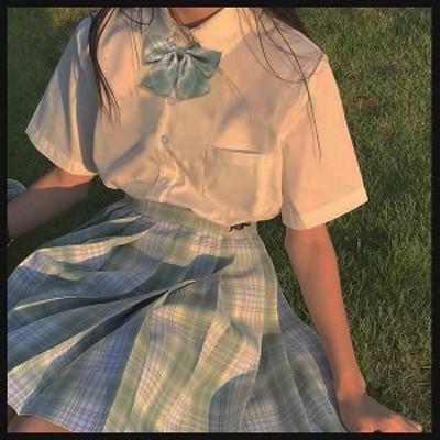 制服スカート チェック柄 ミニスカート 韓国 原宿 レディース 卒服入学式 女の子 学生 小さいサイズ 大きいサイズ リボン ネクタイ 発表