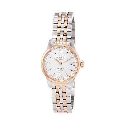 ティソ Tissot Le Locle Silver Dial Stainless Steel Ladies Watch T41218333 並行輸入品