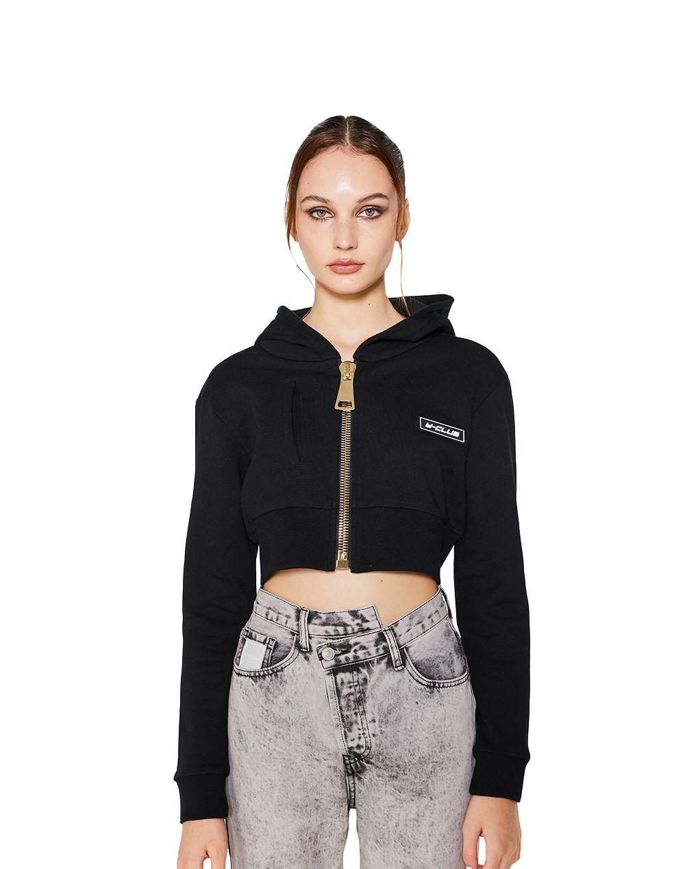 Zip Hooded Jacket-YUYU