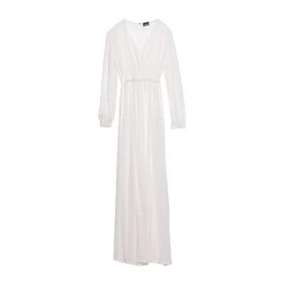 JUST CAVALLI シルクドレス ファッション  レディースファッション  ドレス、ブライダル  パーティドレス ホワイト