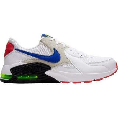 ナイキ メンズ エアマックス エクシー Nike Air Max Excee スニーカー White/Hyper Blue/Red