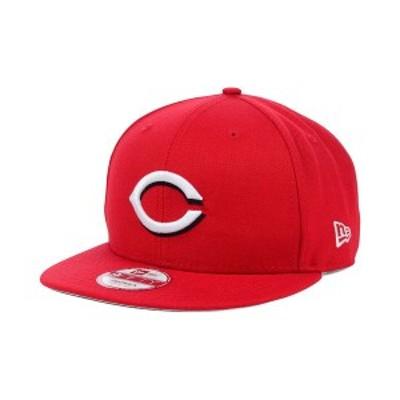 ニューエラ メンズ 帽子 アクセサリー Cincinnati Reds MLB 2 Tone Link 9FIFTY Snapback Cap Red
