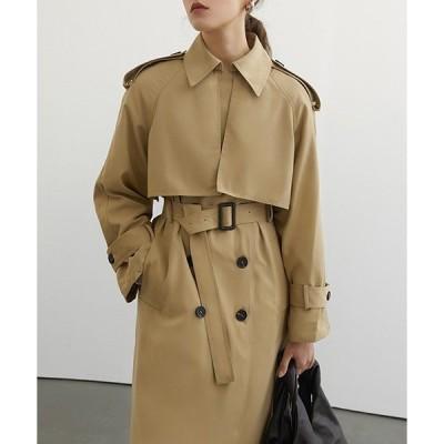コート トレンチコート 【Fano Studios】【2021SS】Raglan sleeve belted trench coat cb-3 FC2