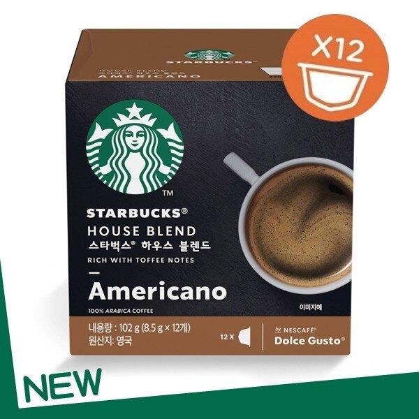 【滿額結帳折$300】雀巢 星巴克家常美式咖啡膠囊 (3盒/36顆) 12398610 在家也能喝星巴克咖啡!