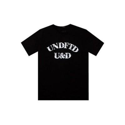 アクティブウェア トップス メンズ アンダーフィーテッド Undefeated U And D Tee (black) 5190240BLK
