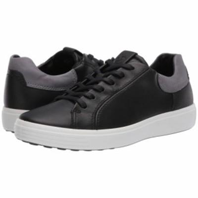 エコー ECCO メンズ スニーカー シューズ・靴 Soft 7 Classic Sneaker Black/Titanium