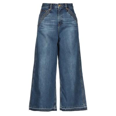 LEE x SELF-PORTRAIT ジーンズ ブルー 26 コットン 100% ジーンズ