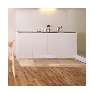 キッチンマット 透明マット クリア 拭ける 台所マット 大判180×60cm 厚さ1.5mm PVC クリアシート 保護マット ずれない 汚
