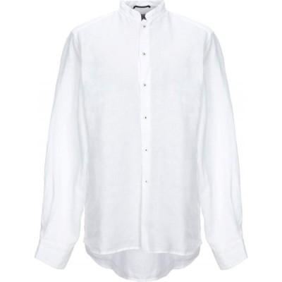 プルマナッコ PLOUMANAC'H メンズ シャツ トップス Linen Shirt White