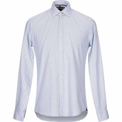 ウーピー ルーピー WHOOPIE LOOPIE メンズ シャツ トップス Patterned Shirt White