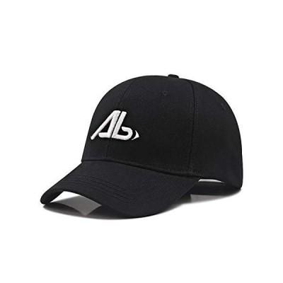 Lovechic キャップ 大きいサイズ 帽子 メンズ 深め 特大 60-65cm  ブラック-W