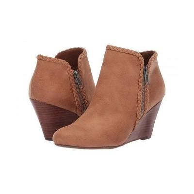 Report レポート レディース 女性用 シューズ 靴 ブーツ アンクル ショートブーツ Gage - Tan