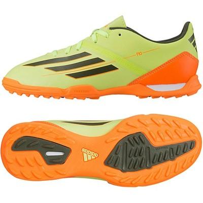 アディダス サッカーJrトレーニングシューズ  F10 TRX TF J(D66998(イエロー×オレンジ))現品限り特価