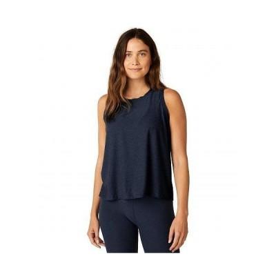 Beyond Yoga ビヨンドヨガ レディース 女性用 ファッション アクティブシャツ Plus Size Balanced Muscle Tank - Nocturnal Navy