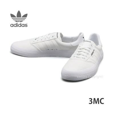 アディダス スリーエムシー adidas 3MC スケシュー スニーカー シューズ 靴 メンズ スケートボード スケボー SKATE カラー:WHT/WHT/GM