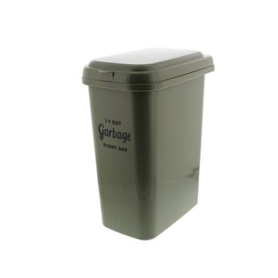 平和工業 ゴミ箱 ふた付き エコペール 20L カーキ