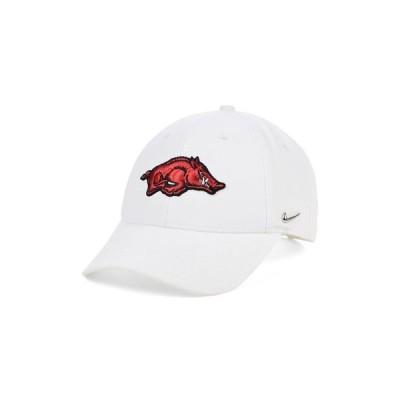 ナイキ メンズ 帽子 アクセサリー Arkansas Razorbacks Ingot Legacy 91 Adjustable Cap
