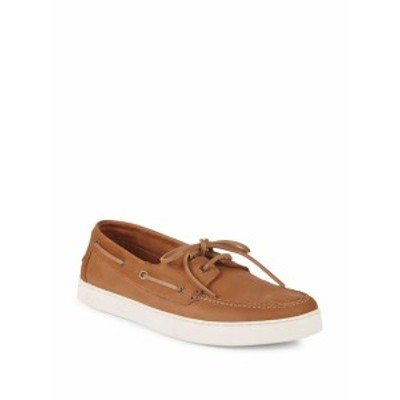 ヴィンス カミュート メンズ シューズ ローファー Greg Leather Boat Shoes