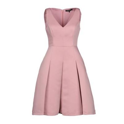 BCBGMAXAZRIA ミニワンピース&ドレス ピンク 2 ポリエステル 100% ミニワンピース&ドレス