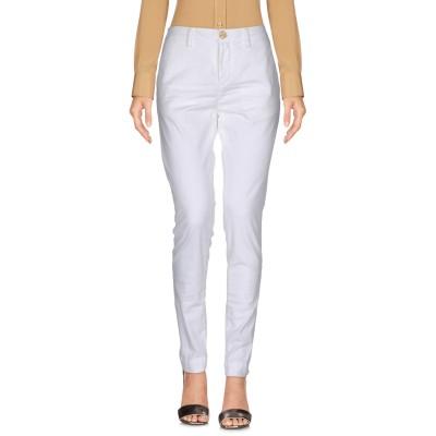 アリーニ AGLINI パンツ ホワイト 31 コットン 97% / ポリウレタン 3% パンツ