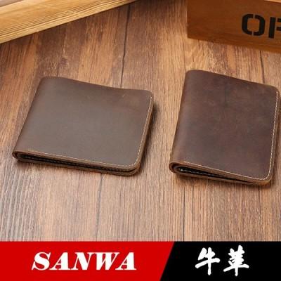財布 二つ折り  メンズ 財布サイフ さいふ メンズ 牛革 本革 レザー 安い 多機能 大容量 ビジネス