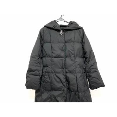 ジャスグリッティー JUSGLITTY ダウンコート サイズ1 S レディース 美品 黒 ビジュー/冬物【中古】20200625