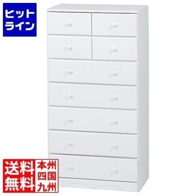 チェスト(ホワイト) MCH-6892WH【大型商品につき代引不可・時間指定不可・返品不可】 MCH-6892WH