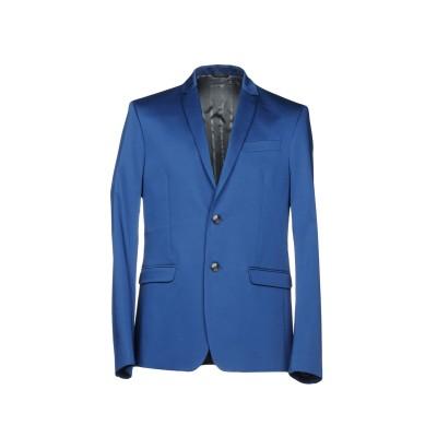 パトリツィア ペペ PATRIZIA PEPE テーラードジャケット ブルー 48 コットン 96% / ポリウレタン 4% テーラードジャケット