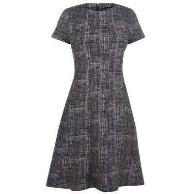 ディーケーエヌワイ DKNY Occasion レディース ワンピース ワンピース・ドレス Tweed Dress DUSTY MAUVE