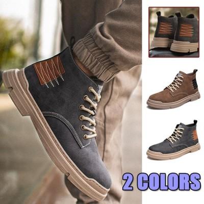 ワークブーツ メンズ 靴 ショートブーツ カジュアルシューズ おしゃれ メンズ 靴 カジュアルシューズ 紳士靴 男性 秋