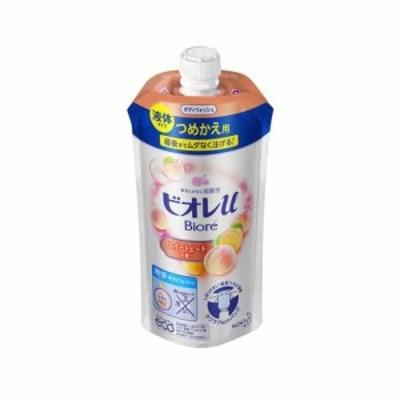 花王 ビオレu スイートピーチの香り つめかえ用 340ml|4901301336460(tc)
