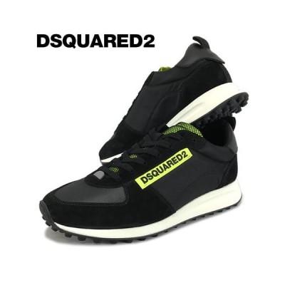 ディースクエアード/DSQUARED2 メンズ スニーカー NEW RUNNER HIKING SNM0081 11702256/ブラック/M778