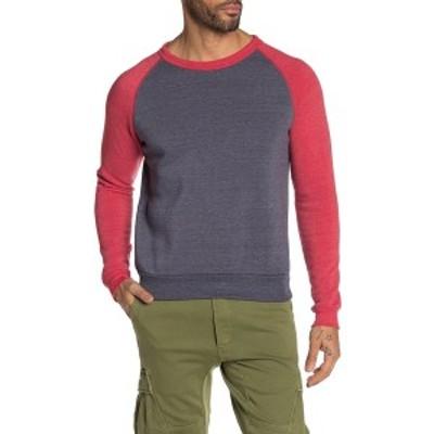 オルタナティヴ メンズ パーカー・スウェットシャツ アウター Apparel Colorblocked Champ Sweater ETRUNVY/ETRURED