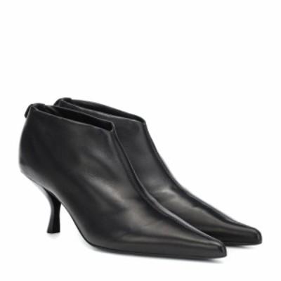 ザ ロウ The Row レディース ブーツ ショートブーツ シューズ・靴 Bourgeoise leather ankle boots Black
