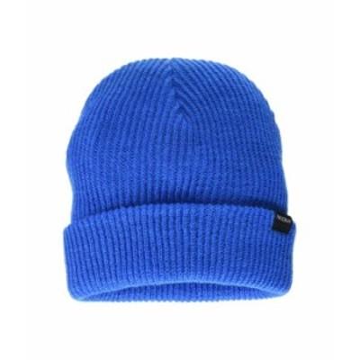 ニクソン メンズ 帽子 アクセサリー Kos R Beanie Blue