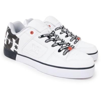 DC SHOE シューズ スニーカー スケート 靴 PURE SE SN WHITE ホワイト 白