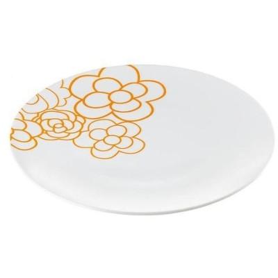 guzzini グッチーニ ラウンドディッシュ スープ 2007.0145オレンジ  洋食器