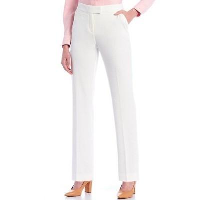 インベストメンツ レディース カジュアルパンツ ボトムス the 5TH AVE fit Straight Leg Textured Pants