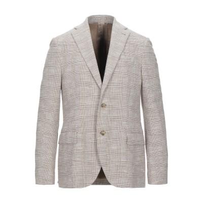 トラサルディ ジーンズ TRUSSARDI テーラードジャケット ベージュ 50 コットン 90% / ポリエステル 10% テーラードジャケット