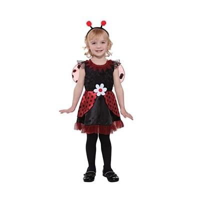 トータリー グール Toddler ガールズ リル Ladybug Fairy コスチューム with ドレス Headpiece 2(海外取寄せ品)