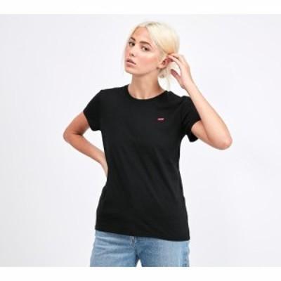 リーバイス Levis レディース Tシャツ トップス perfect t-shirt Black