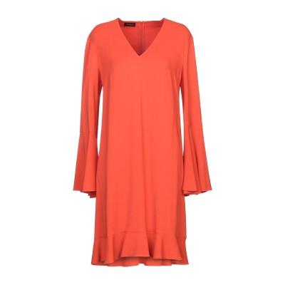レ コパン LES COPAINS ミニワンピース&ドレス 赤茶色 44 97% レーヨン 3% ポリウレタン ミニワンピース&ドレス
