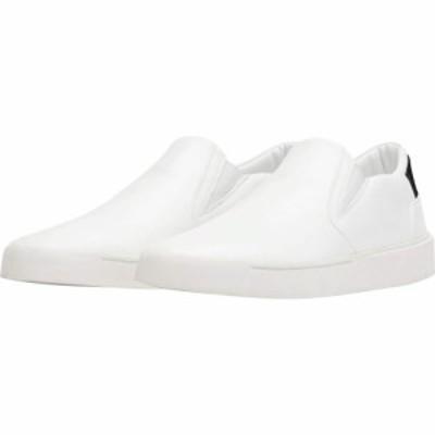 サウザンドフェル Thousand Fell レディース スリッポン・フラット シューズ・靴 Slip-On W White/Black