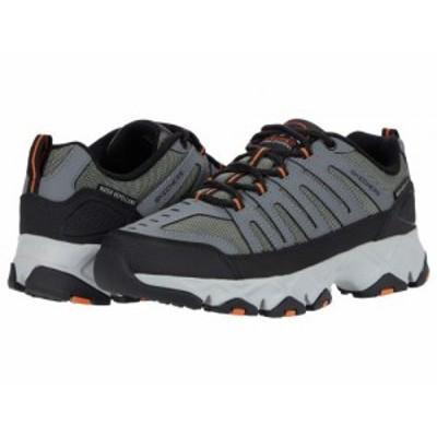 SKECHERS スケッチャーズ メンズ 男性用 シューズ 靴 ブーツ ハイキング トレッキング Crossbar Stilholt Gray/Orange【送料無料】