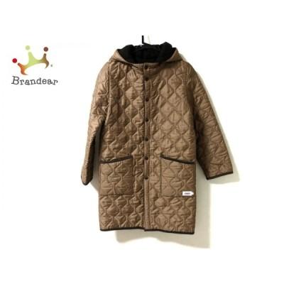 アーメン ARMEN ダウンコート サイズ0 XS レディース - ブラウン 長袖/リバーシブル/冬   スペシャル特価 20210111