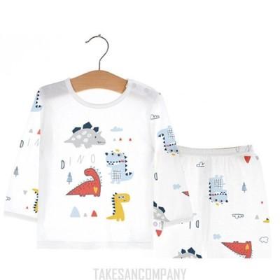 綿 春夏 長袖&ロングパンツ 子供服 ベビー/子供パジャマ 女の子/男の子 子ども服 キッズ用 セットアップ 子どもパジャマ