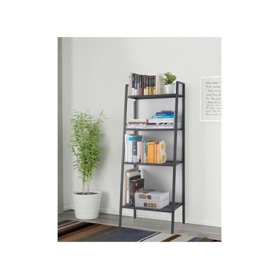 IKEA・イケア 棚 書棚・シェルフユニット LERBERG ダークグレー(601.864.01)