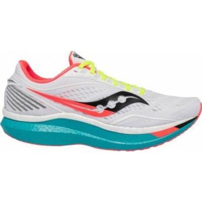 サッカニー メンズ スニーカー シューズ Saucony Men's Endorphin Speed Running Shoes White