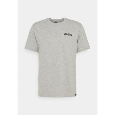 ディッキーズ Tシャツ メンズ トップス KELLIHER TEE - Print T-shirt - grey melange