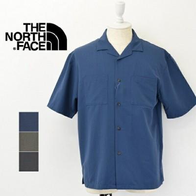 メンズ/THE NORTH FACE ザ ノースフェイス/ S/S BlackRock Shirt 半袖 オープンカラー シャツ/NR22062